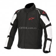 Alpinestars Megaton Waterproof Jacket   Black White    Red