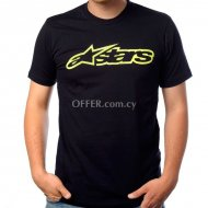 Alpinestars Blaze TShirt   Black Yellow