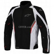 Alpinestars Megaton Waterproof Jacket   White    Red