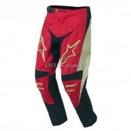 Alpinestars Youth Racer Pants     Red  White