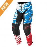 RACER BRAAP PANTS Blue    Red  White