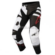 RACER BRAAP PANTS Black White