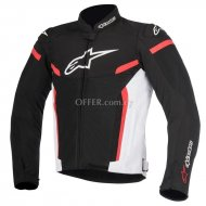 ALPINESTARS TGP PLUS R V2  JACKET Black   Red