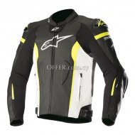 Alpinestars Missile Leather Jacket TechAirÎ' Compatible