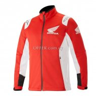 Alpinestars Honda Softshell Jacket     Red