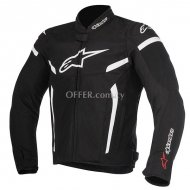 ALPINESTARS TGP PLUS R V2 AIR JACKET Black White