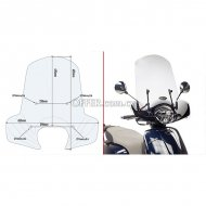 Givi 6109A Specific Screen for KYMCO LIKE 125 17