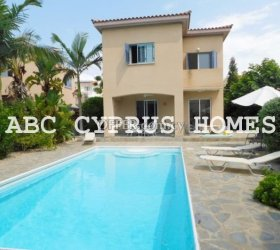 VILLA IN PAPHOS just 300M FROM the SEA-ABC Cyprus Homes