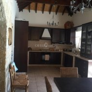 FOUR BEDROOM DETACHED HOUSES IN DHOROS VILLAGE IN LIMASSOL - 5