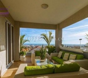 FOR RENT 3 BEDROOM PENTHOUSE IN PANTHEA, LIMASSOL