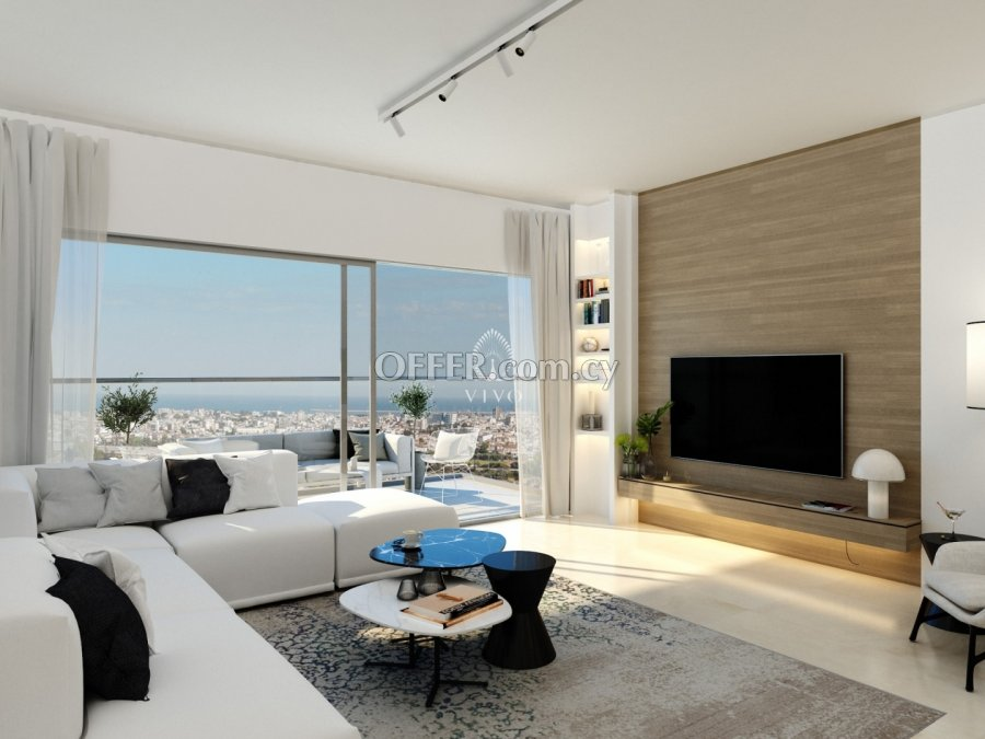 MODERN 3 BEDROOM WHOLE FLOOR PENTHOUSE  IN AG. IOANNIS LIMASSOL - 1