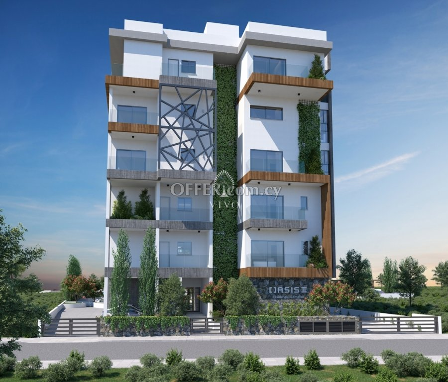 ONE BEDROOM APARTMENT IN A LUXURY COMPLEX 500 M FROM THE SEA IN P. GERMASOGEIAS - 2