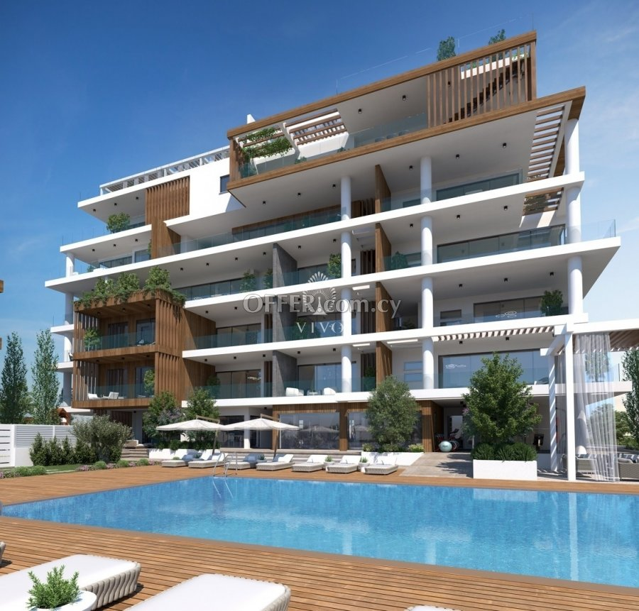 ONE BEDROOM APARTMENT IN A LUXURY COMPLEX 500 M FROM THE SEA IN P. GERMASOGEIAS - 5