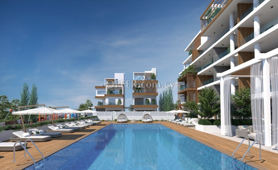 THREE BEDROOM APARTMENT IN A LUXURY COMPLEX 500 M FROM THE SEA IN P. GERMASOGEIAS - 5