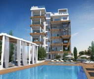 ONE BEDROOM APARTMENT IN A LUXURY COMPLEX 500 M FROM THE SEA IN P. GERMASOGEIAS - 1