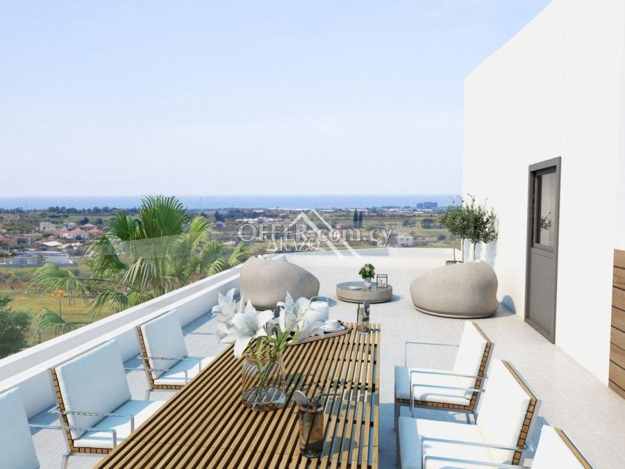 Modern 2 Bedroom Penthouse Apartment, Sotira - 1