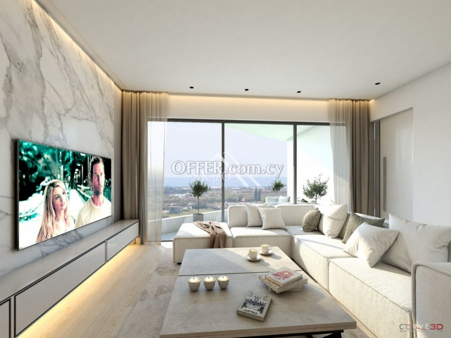 Modern 2 Bedroom Penthouse Apartment, Sotira - 3
