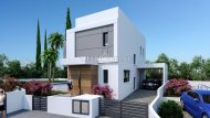3 BEDROOM DODERN DESIGN VILLA UNDER CONSTRUCTION IN PAREKLISIA - 1