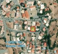 RESIDENTIAL PLOT OF 521 SQ. M. IN PYRGOS FOR SALE