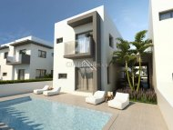 Modern 2 Bedroom Link-Detached Villa, Frenaros