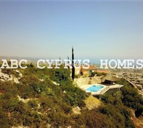 Bungalow with panoramic sea views in Peiya, Paphos- ABC Cyprus Homes