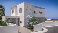 4 Bedrooms Detached Villa with Sea Views Attached to Green Area, Kapparis - 2