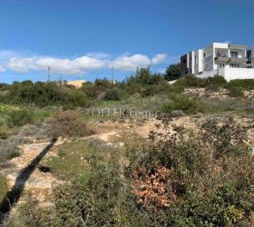 BUILDING PLOT WITH SEA-VIEW IN AYIA PARASKEVI, GERMASOYIA 580M2 - PRICE NEGOTIABLE