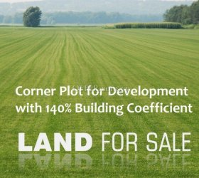 TOWN CENTRE BUILDING PLOT WITH 140% CONSTRUCTION COVERAGE - PRICE NEGOTIABLE