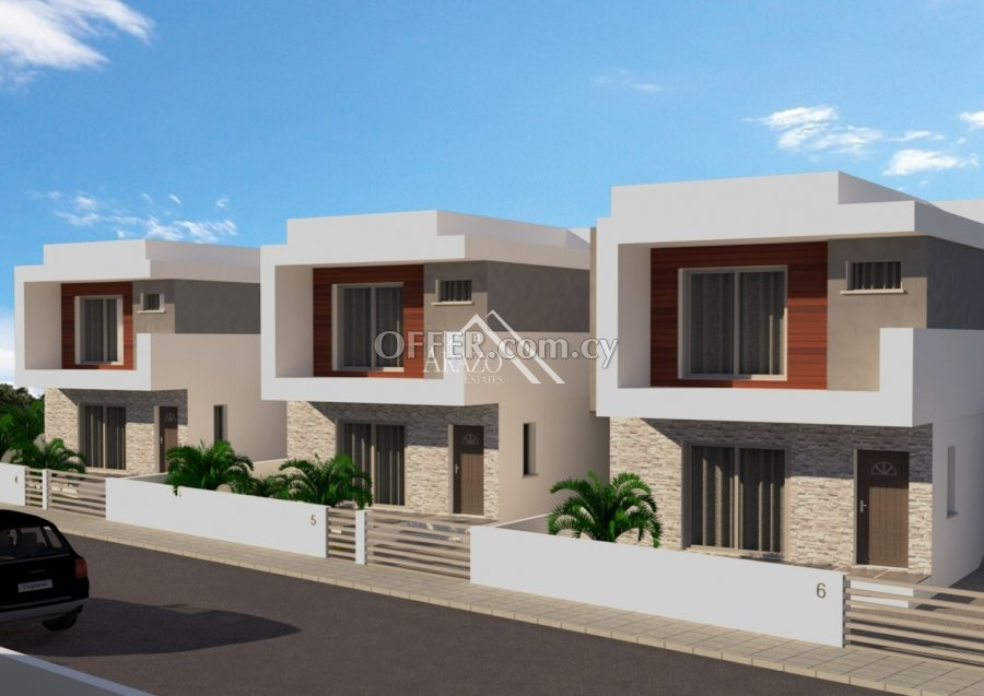 Modern 3 Bedroom Detached Villa, Frenaros - 1