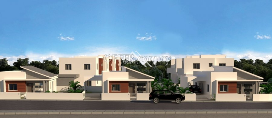 Modern 3 Bedroom Detached Villa, Frenaros - 2