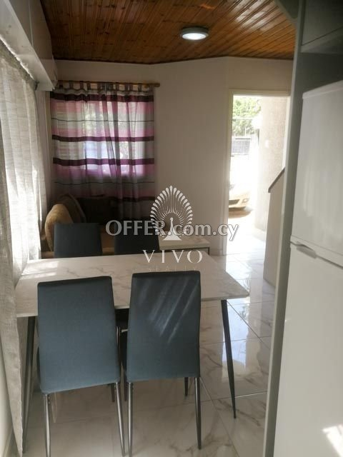 FULLY RENOVATED GROUND FLOOR 2 BEDROOM APARTMENT IN MOUTTAGIAKA - 2