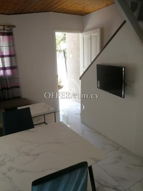 FULLY RENOVATED GROUND FLOOR 2 BEDROOM APARTMENT IN MOUTTAGIAKA - 5