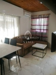 FULLY RENOVATED GROUND FLOOR 2 BEDROOM APARTMENT IN MOUTTAGIAKA - 1