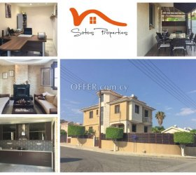 RN SPS 306 / 4 Bedroom villa in Pareklissia – For sale