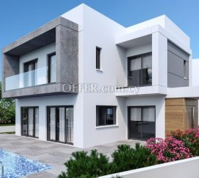 Modern Under construction 3 bedroom house in Pareklisia with Private Pool and Garden