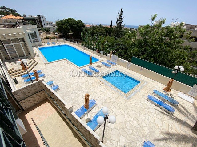 Private Studio with balcony fully furnished in Paphos upper City Centre near all shops bus stop & amenities - 2