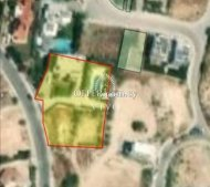 RESIDENTIAL PLOT OF 850 m2 IN AGIA PARASKEVI GERMASOGIA AREA