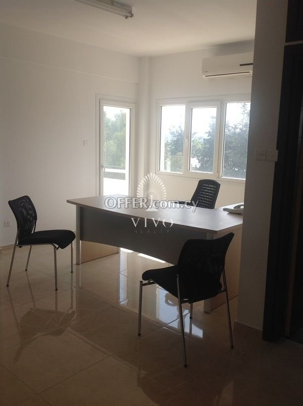FURNISHED  OFFICE FOR RENT IN THE CITY CENTER - 1