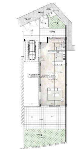 Modern 3 bedroom under construction house in north district areas of Limassol - 3