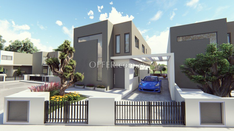 Modern 3 bedroom under construction house in north district areas of Limassol - 1