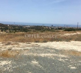 LARGE PIECE OF BUILDING LAND FOR SALE IN SFALAGGIOTISSA ADJACENT TO PUBLIC ROADS, WITHIN RESIDENTIAL AREA - UN-OBSTRUCTED SEA VIEWS