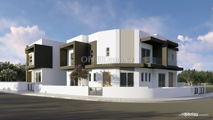 UNDER CONSTRUCTION 3 BEDROOM CORNER HOUSE IN EKALI LIMASSOL - 1