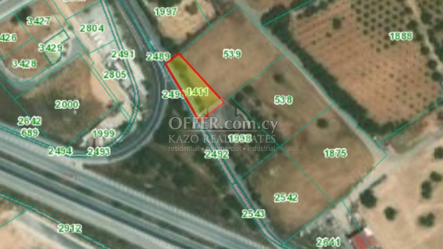 Plot Residential in Ypsonas Limassol - 1