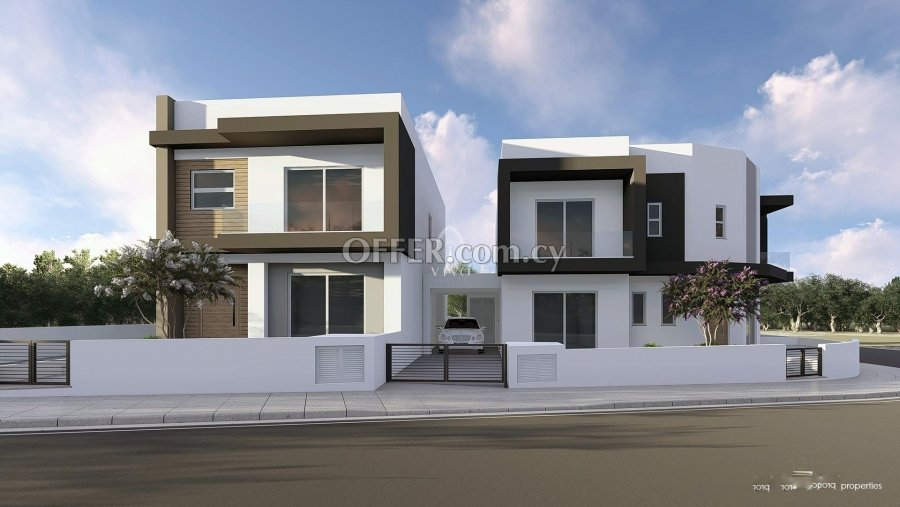 UNDER CONSTRUCTION 3 BEDROOM CORNER HOUSE IN EKALI LIMASSOL - 4
