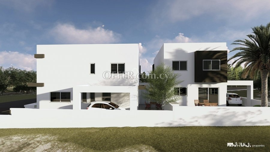 UNDER CONSTRUCTION 3 BEDROOM CORNER HOUSE IN EKALI LIMASSOL - 3