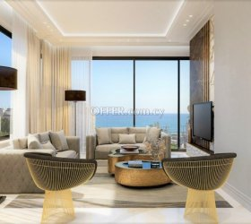 LUXURY SEA-VIEW WHOLE-FLOOR APARTMENTS FOR SALE IN MOLOS, LIMASSOL