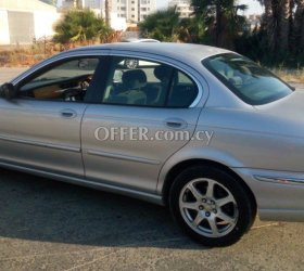 2003 Jaguar X-type 2.1L Petrol Tiptronic Sedan (photo 0)