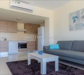 ONE-BEDROOM COZY APARTMENT, 20 METRES FROM THE SEA-FRONT IN AYIOS TYCHONAS TOURIST AREA -(NO VAT)