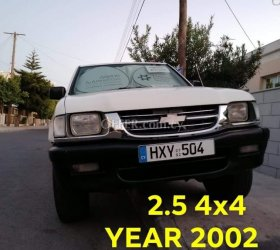 2002 Isuzu d-max 2.5L Diesel Manual Pickup and 4x4