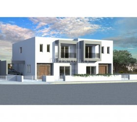 Brand new three bedroom semi-detached house under construction in Fasoula - 15137